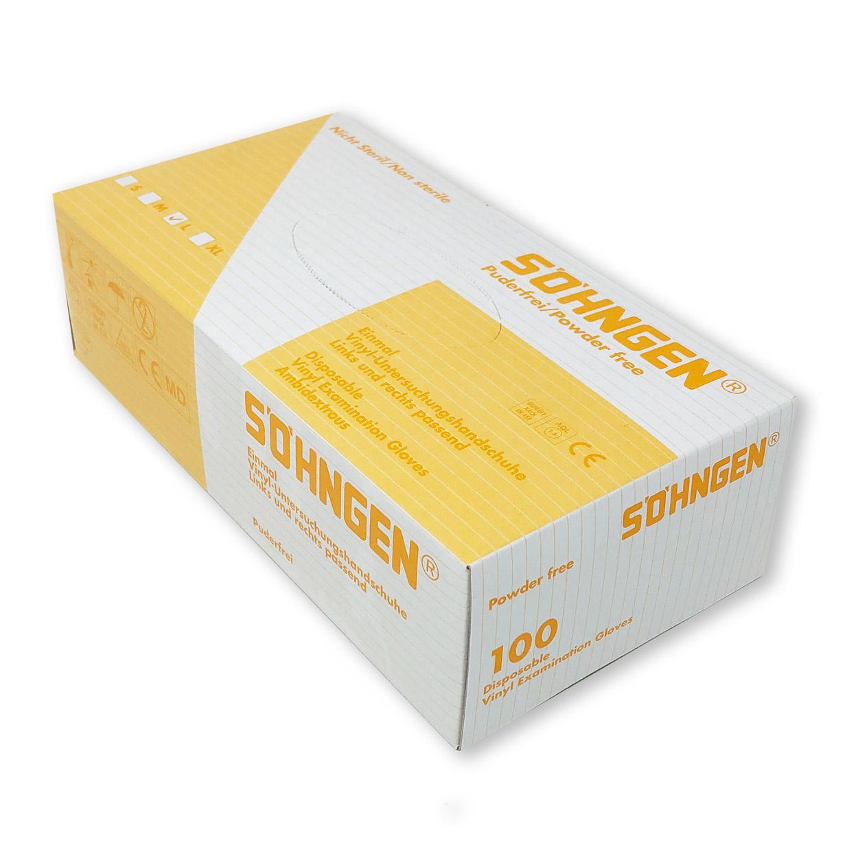 Söhngen® Schutzhandschuhe, Packung á 100 Stk.