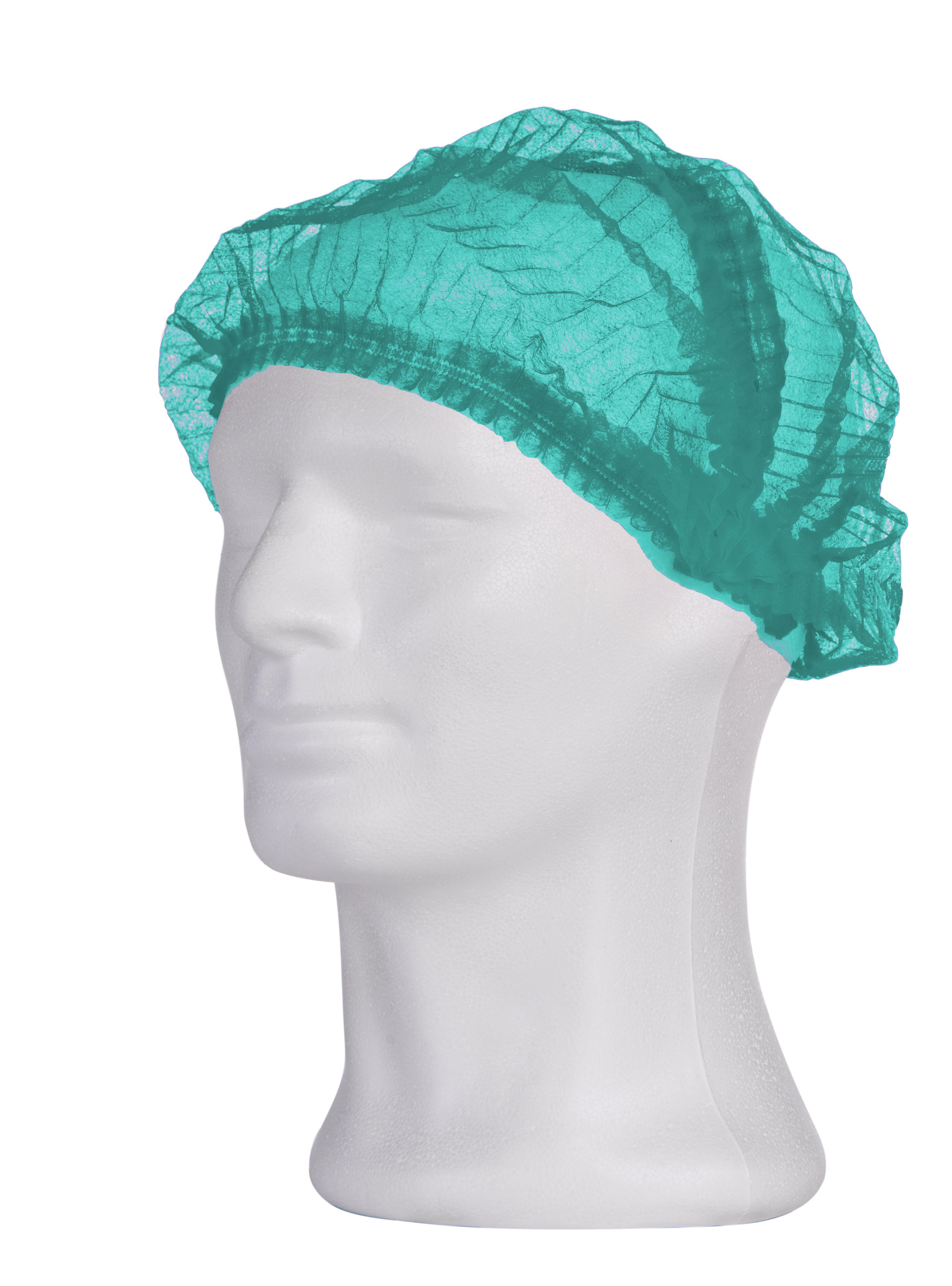 Klipphaube in grün, Packung à 100 Stück