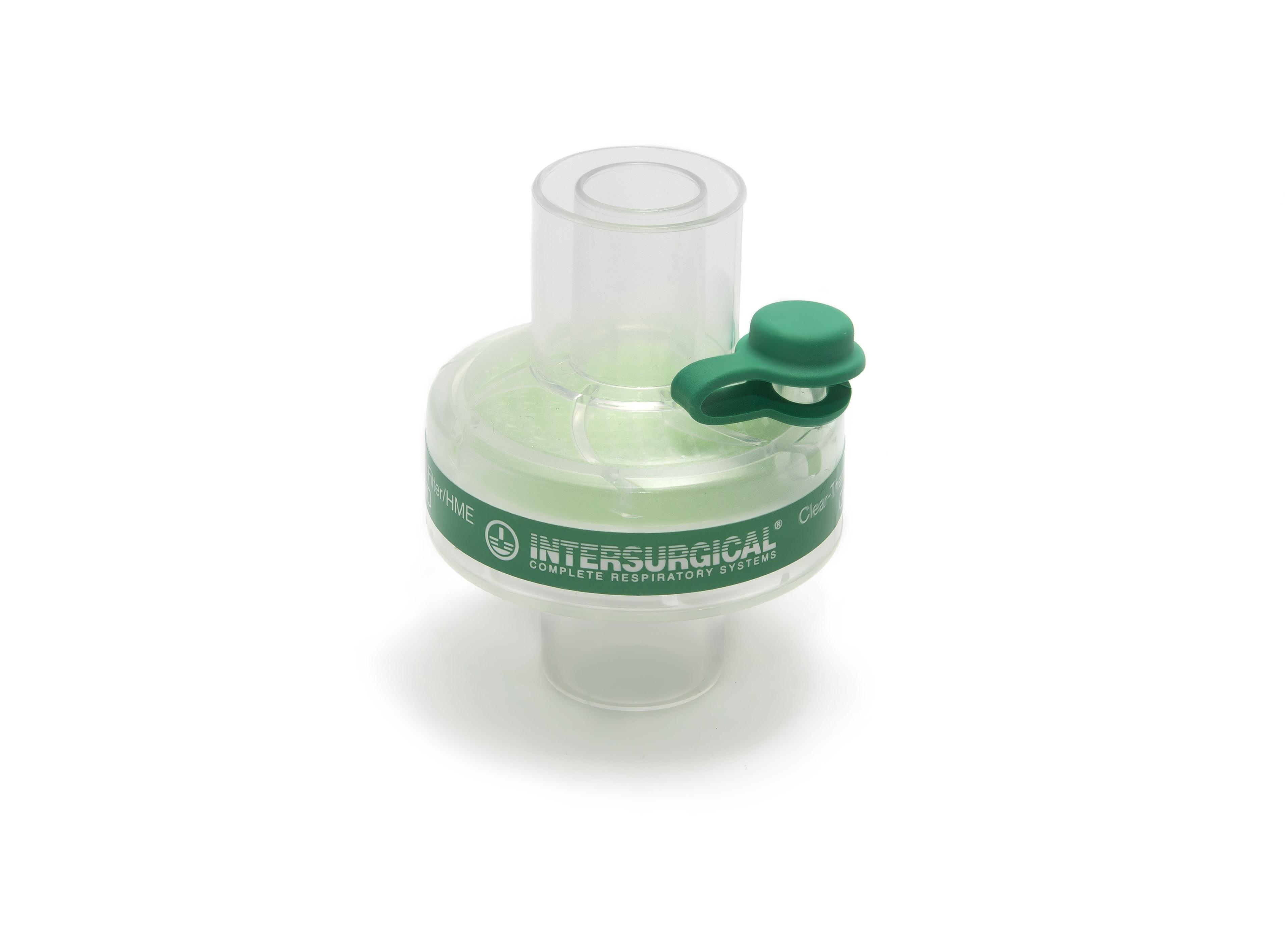 Bakterienfilter / Virenfilter Clear Therm Mini HMEF für Kinder mit Luer Port