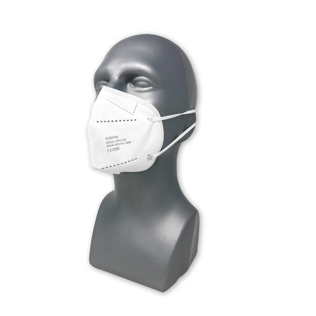 FFP2 Atemschutzmaske Makena NR, einzeln verpackt
