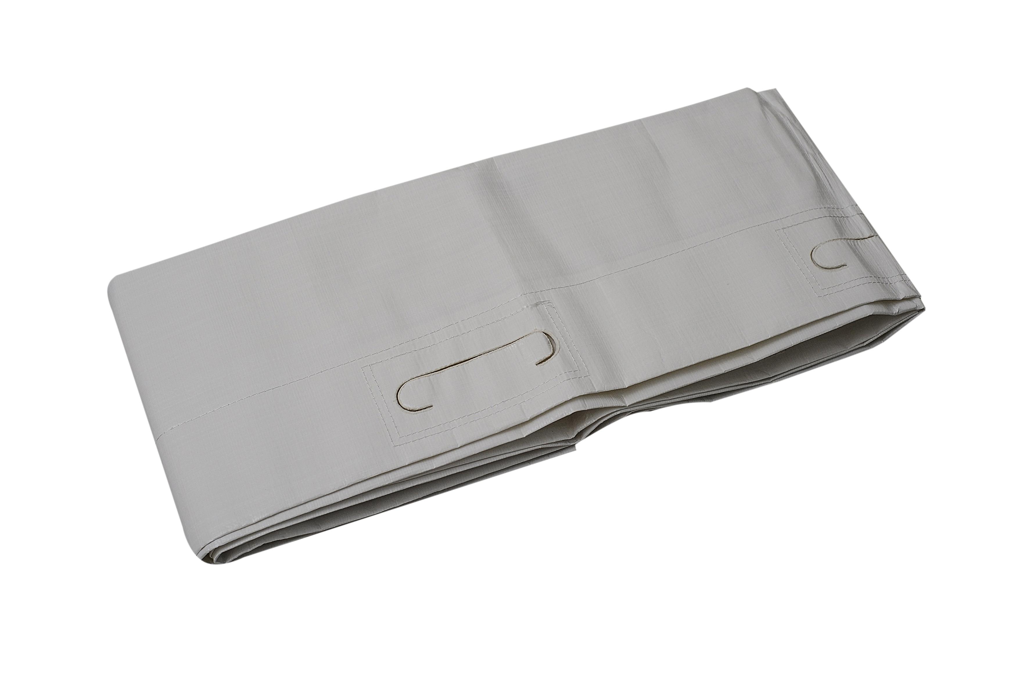 Einweg-Rettungstuch, weiß, 200 x 70 cm