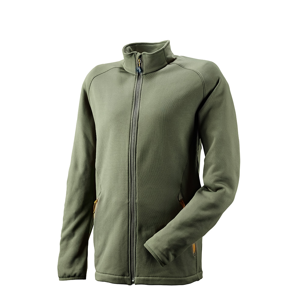 Fleece Jacket Tecnostretch olive