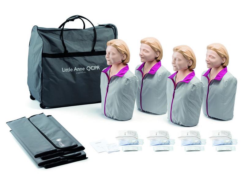 Little Anne QCPR 4er-Pack inkl. Tragetasche
