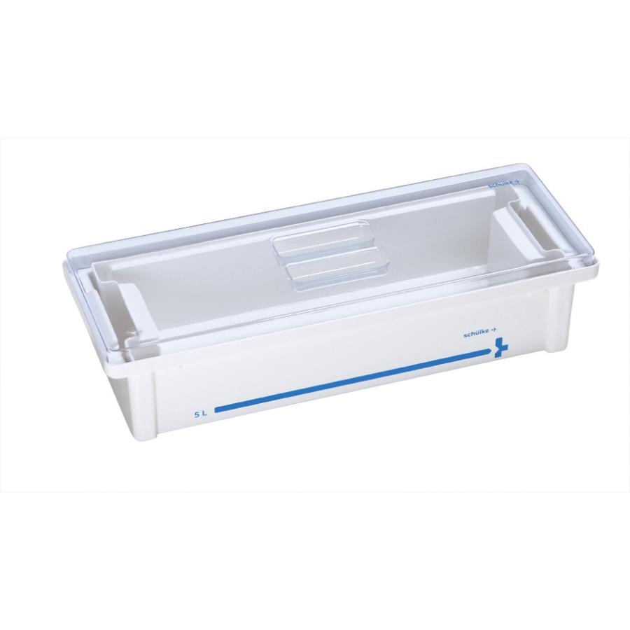 Wannen-Set 5 l Deckel transparent | Instrumentenwanne