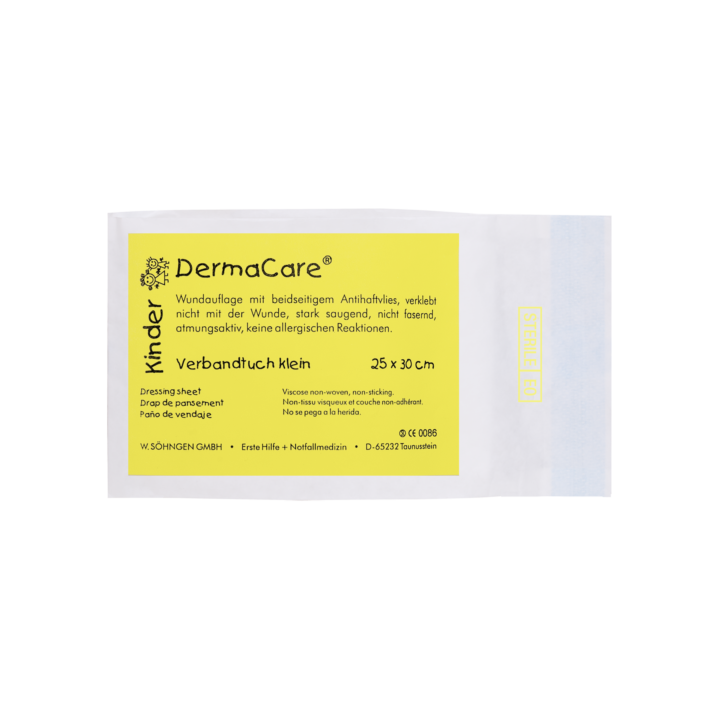 DermaCare® Kinder Verbandtuch 25 x 30 cm