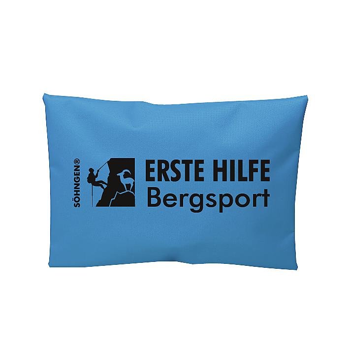 Erste Hilfe Bergsport blau