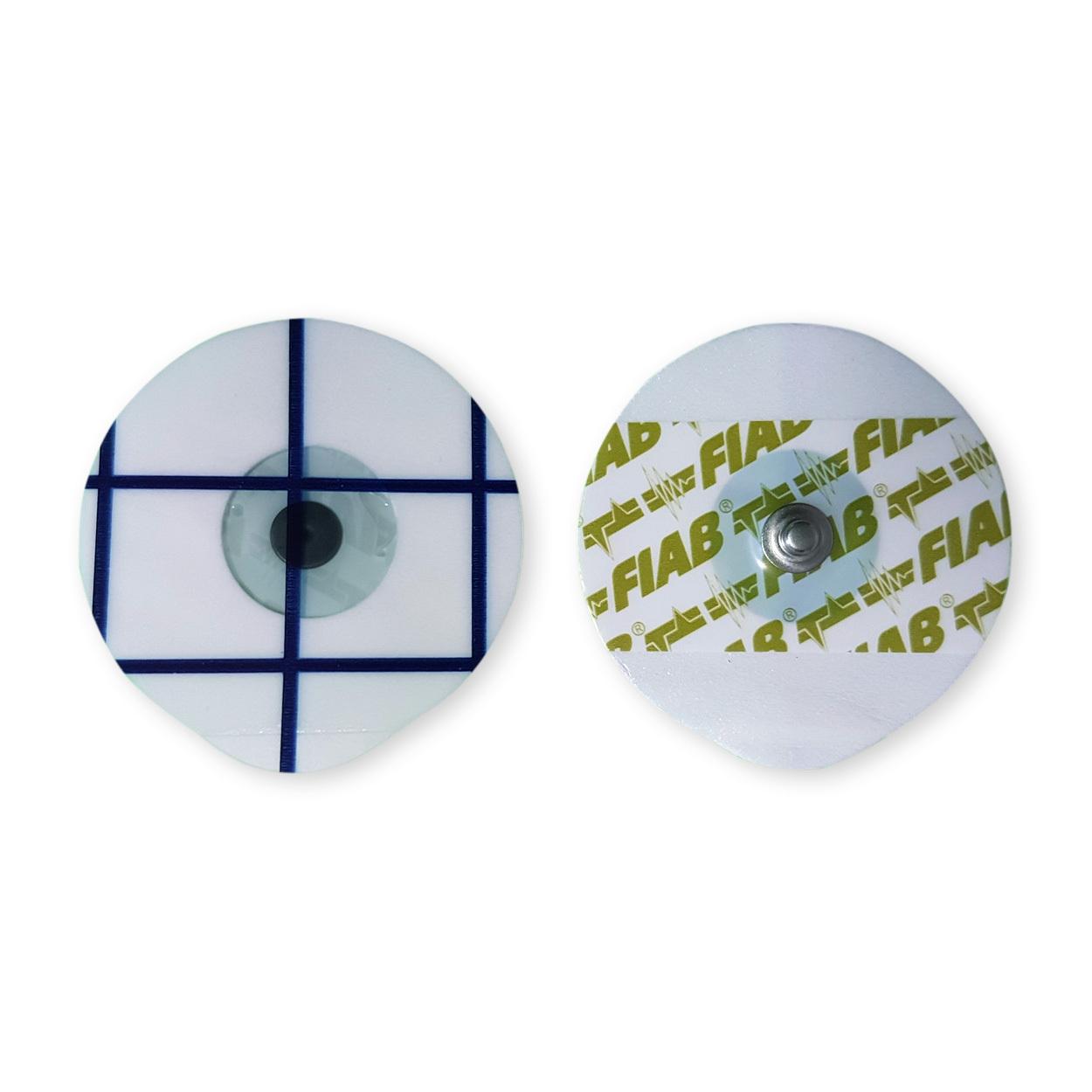 EKG-Elektrode für Erwachsene mit Solid Gel, Beutel á 50 Stück