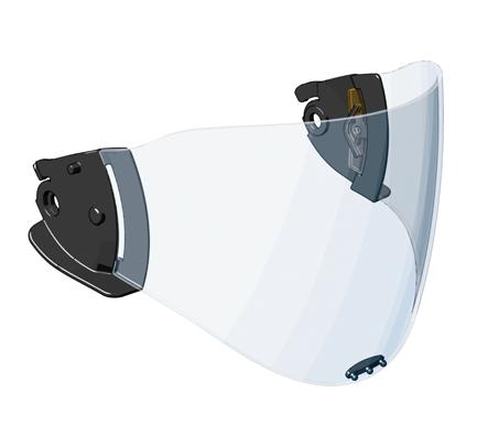 CASCO Panoramavisier PC 2 mm standard klar