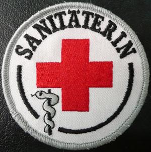 Fachkraftabzeichen Sanitäterin