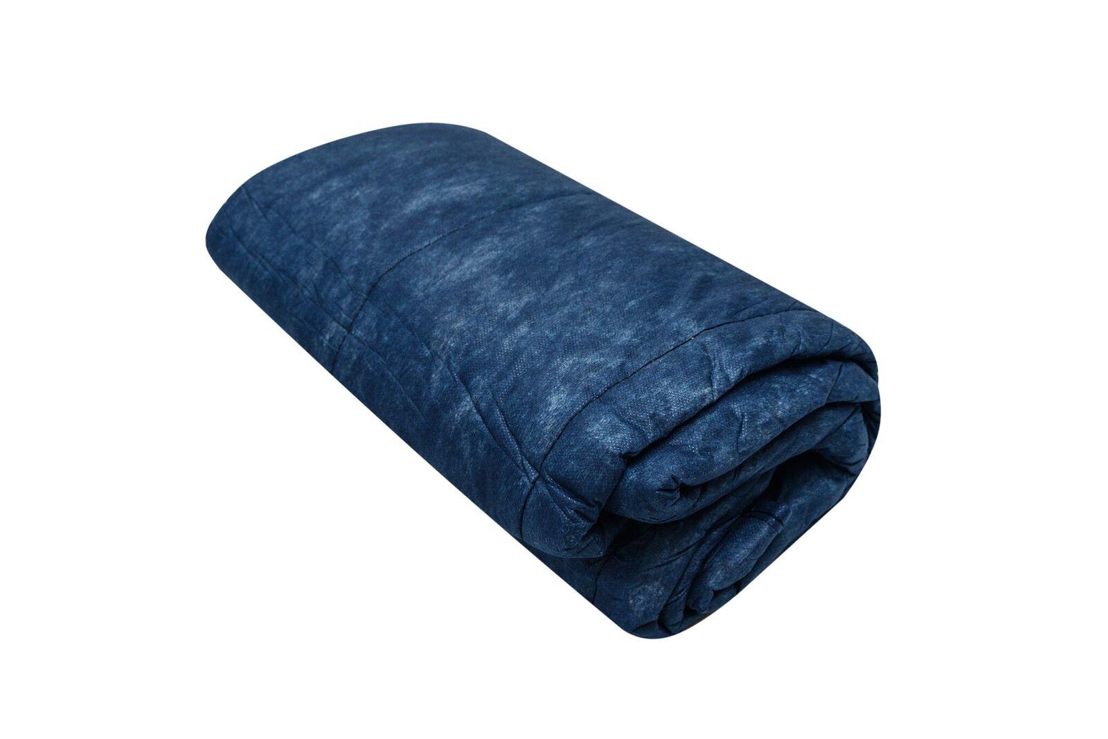 Einmaldecke, blau, 190 x 110 cm, 300 g