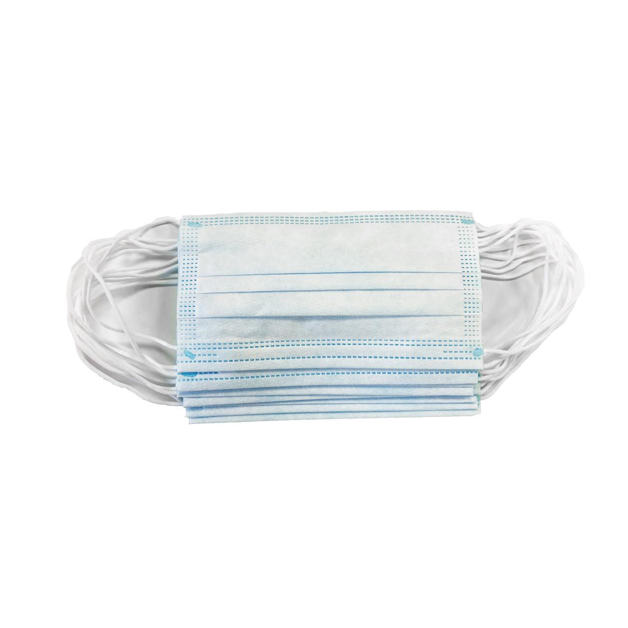 Mundschutz 3-lagig in OP-Qualität, 10er Packung