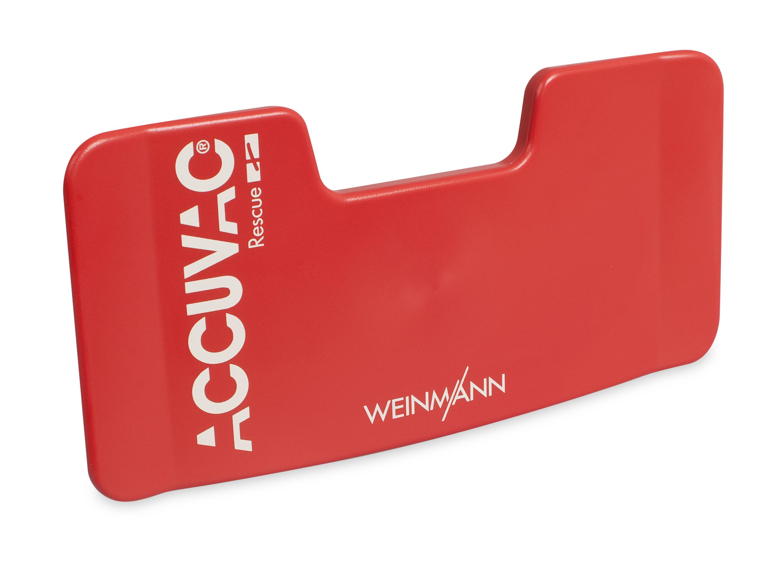 Schlauchhalterplatte, rot für ACCUVAC Rescue