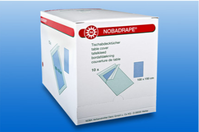NOBADRAPE selbstklebendes Lochtuch, 75 x 90 cm in blau, 1 Stück