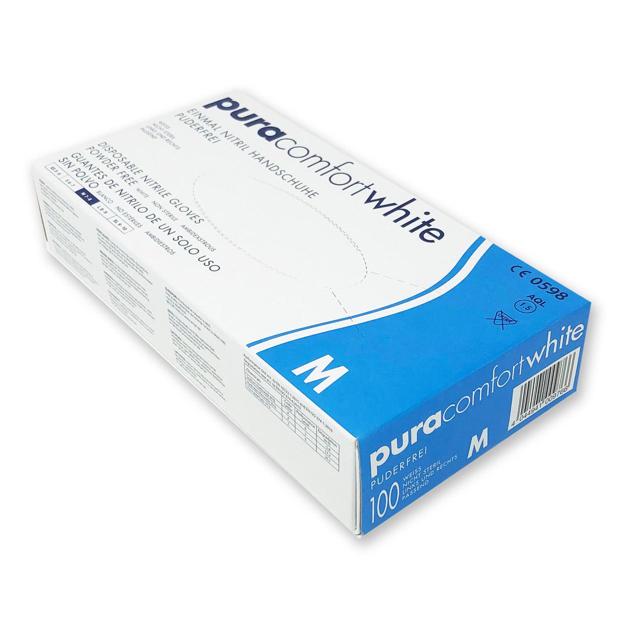 puracomfort white, Packung á 100 Stk.
