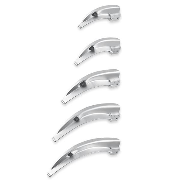 Laryngoskop Kaltlichtspatel aus Edelstahl, Typ Macintosh