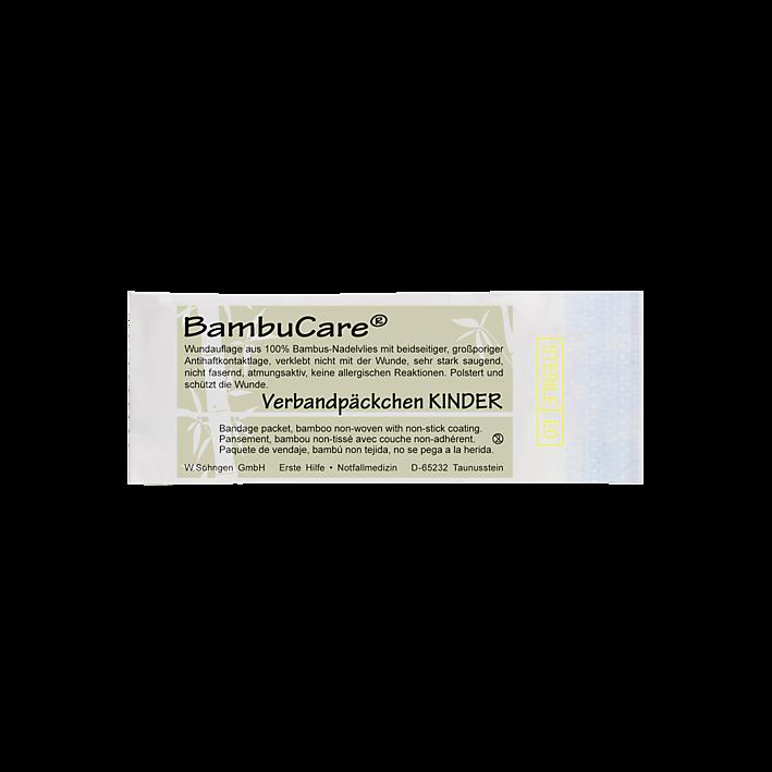 BambuCare® Kinder Verbandpäckchen mittel
