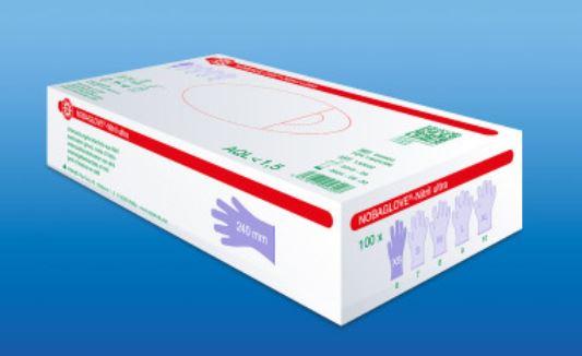 Nitrilhandschuhe Nitril ultra Gr. M - Packung à 100 Stück