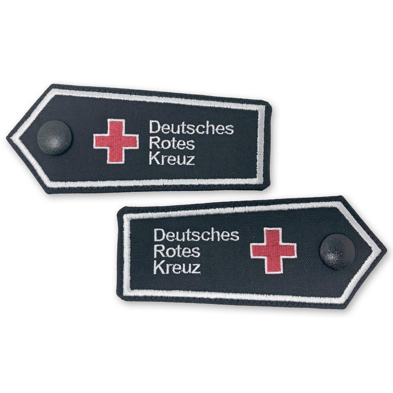 Dienststellungsabzeichen DRK Kompaktlogo (Schulterstück) - 1 Paar