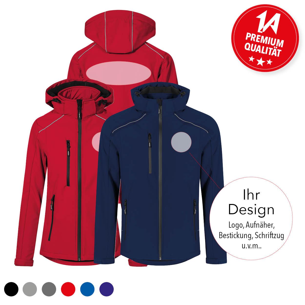 Softshell-Jacke - Individualisiert