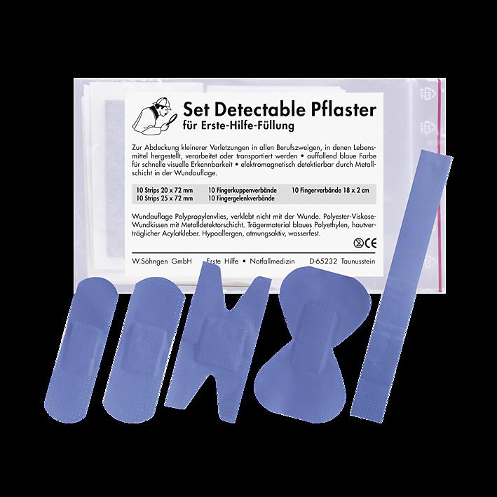 Detectables  Pflasterset für Erste-Hilfe-Füllung