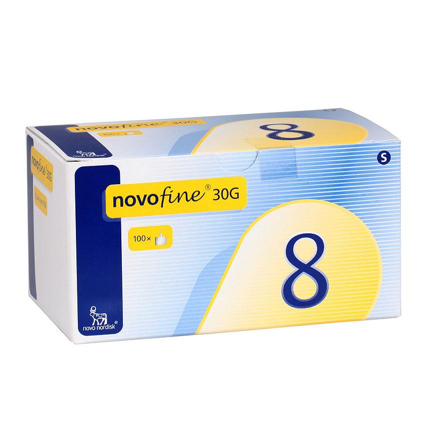 Novofine Penkanülen, 30G, 8 mm x 0,30 mm - 100 Stück