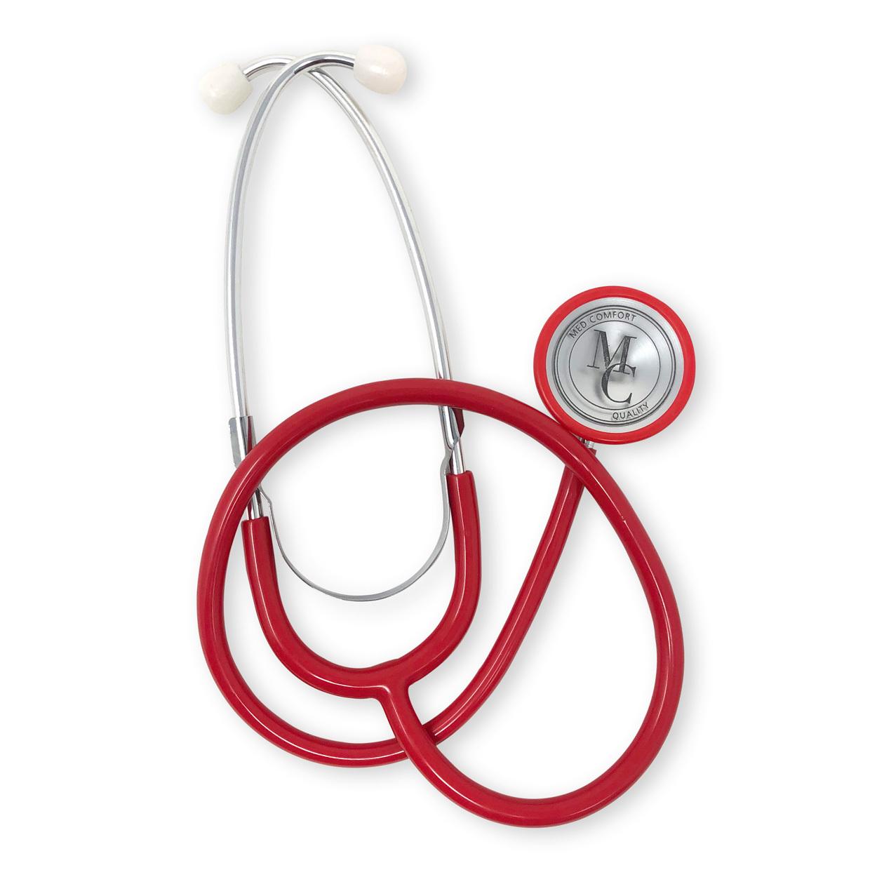 Schwestern-Stethoskop in rot