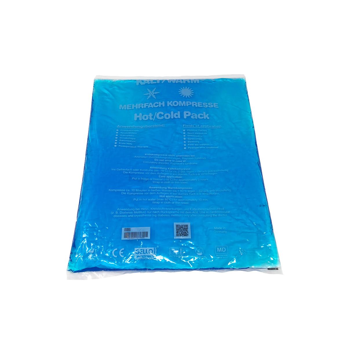 Kalt-/Warmkompresse in 30x40 cm, blau