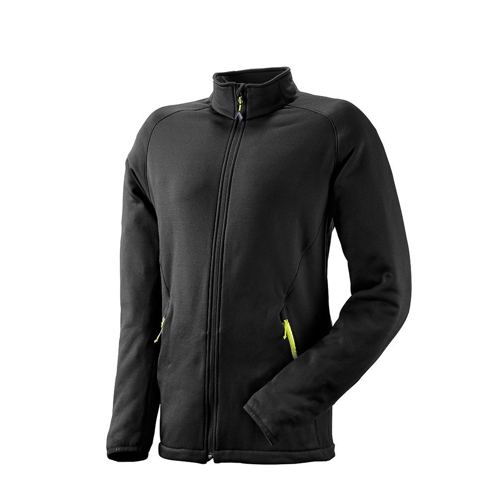 Fleece Jacket Tecnostretch black