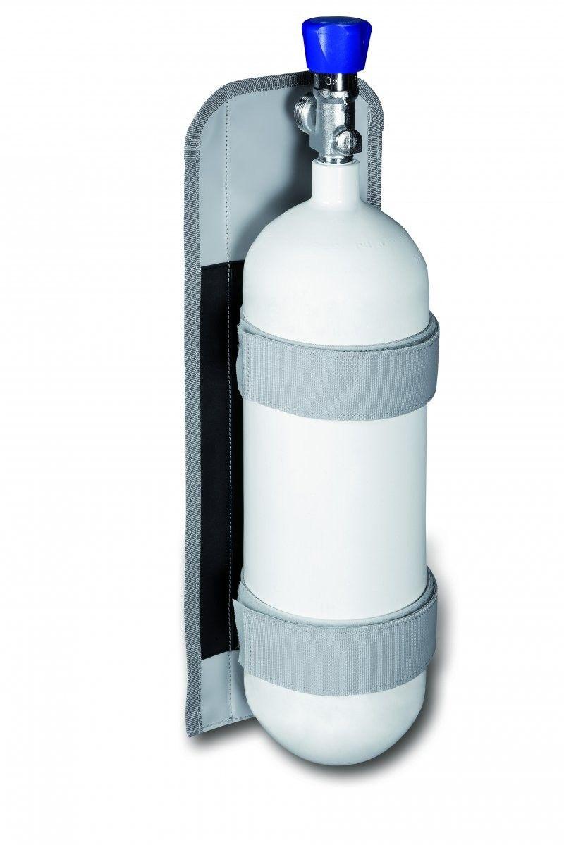 Sauerstoffflaschenhalterung 2 L, PAX-Plan in grau
