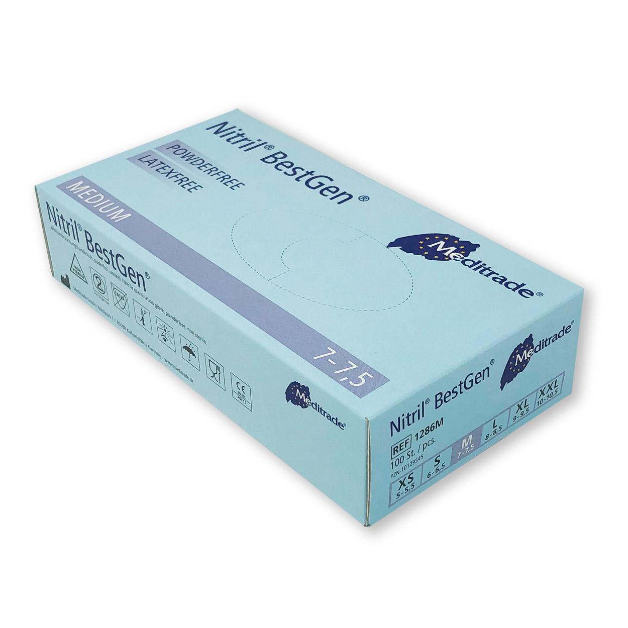 BestGen® Untersuchungshandschuh, Packung á 100 Stk.