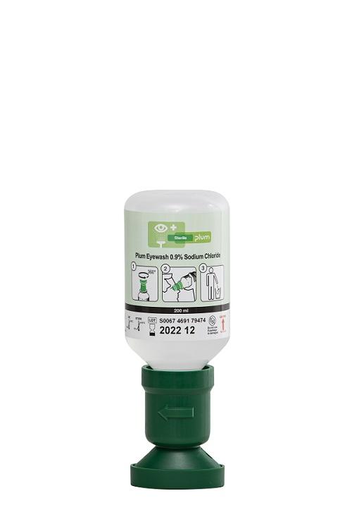 Augenspülflasche mit steriler Natriumchloridlösung, 200 ml
