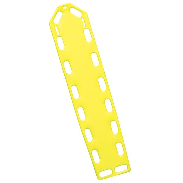 Spineboard in gelb, ohne Fixiergurte