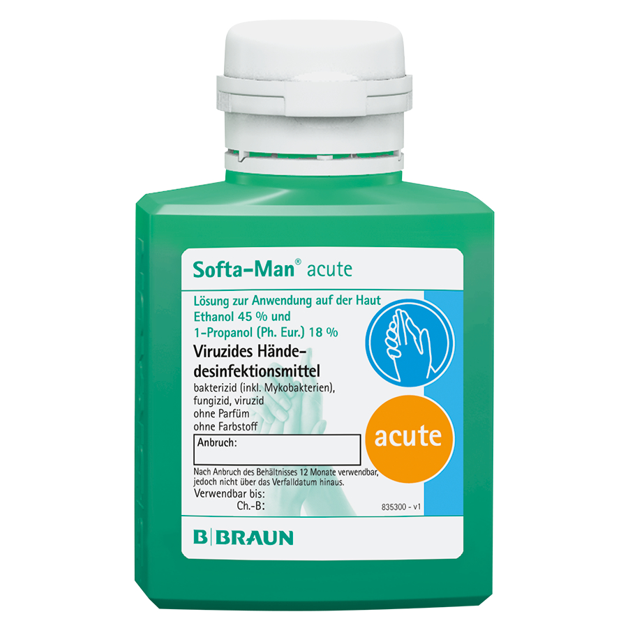 Softa-Man® acute, Flasche, 100 ml