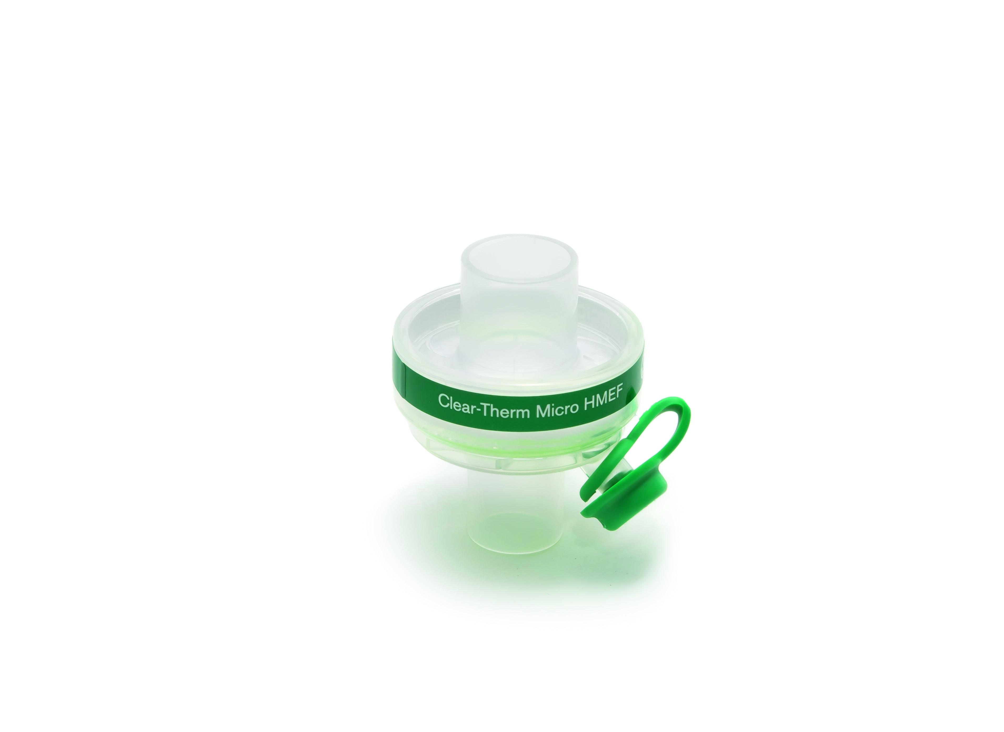 Bakterienfilter, Clear Therm Micro HMEF für Babies mit Luer Port