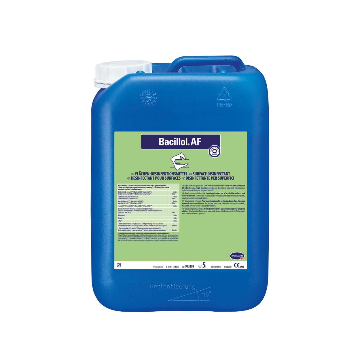 Bacillol® AF, 5 Liter Kanister