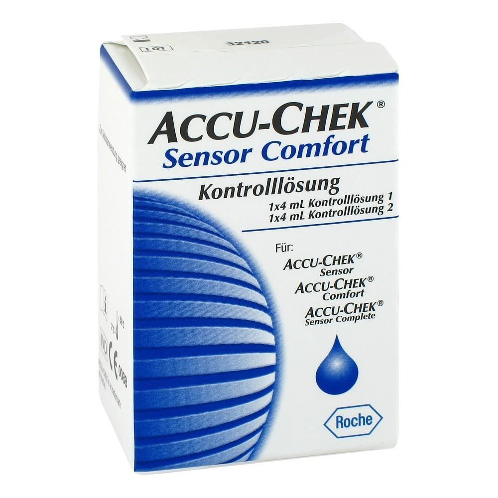 ACCU-CHEK® Sensor Comfort Kontrolllösung