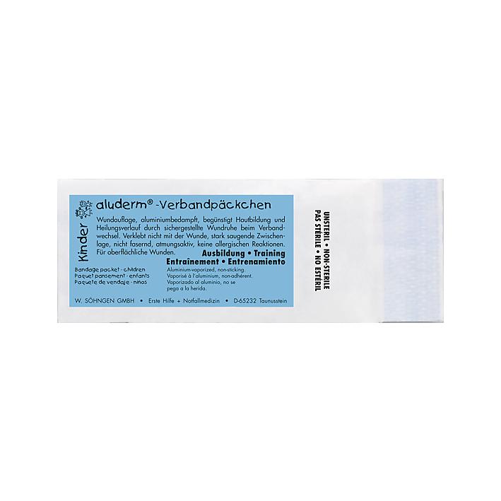 aluderm® KINDER Übungs-Verband päckchen mittel unsteril