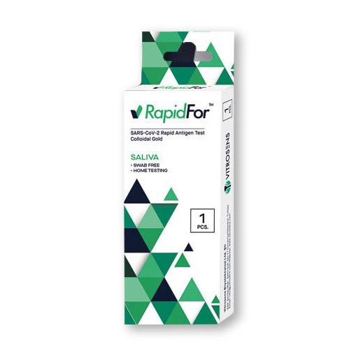 RapidFor Spucktest (Colloidal Gold) - Corona Antigen-Schnelltest - 1 Stück