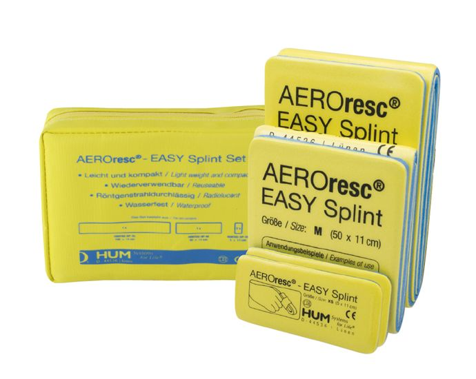 AEROresc EASY Splints Universalschienen Set 1