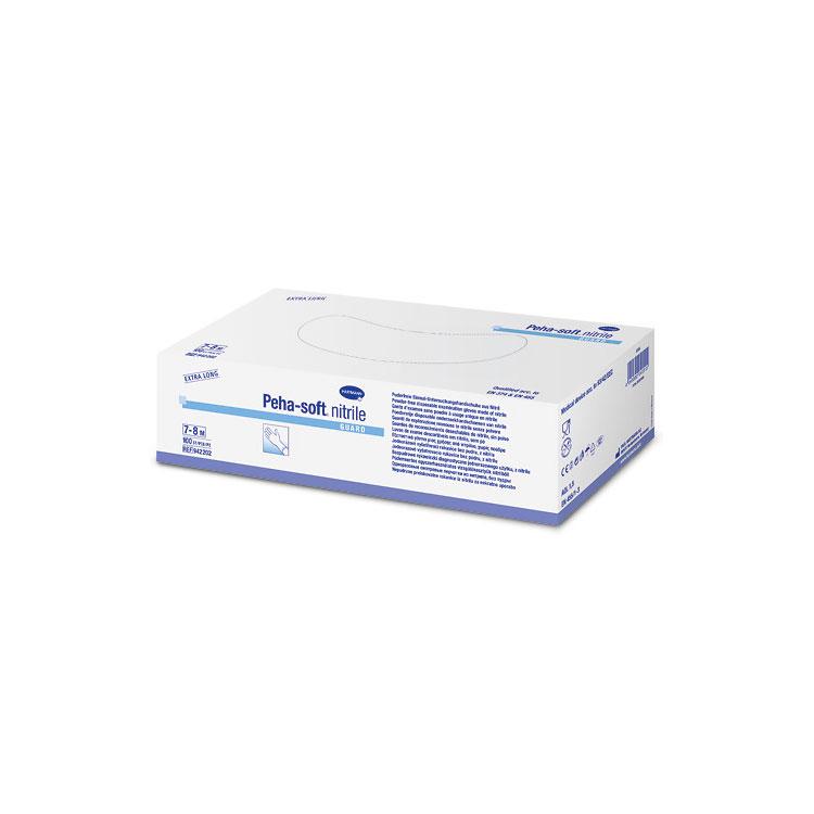 Peha-soft® nitrile guard powderfree in L, 1 Faltschachtel à 100 Stück