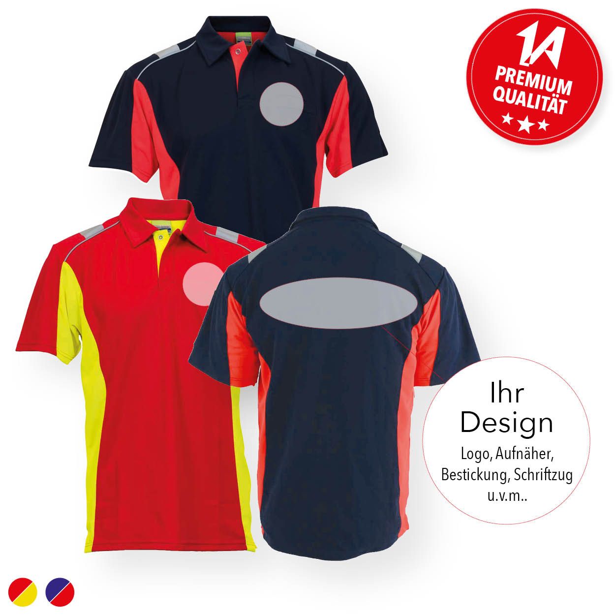 Polo-Shirt Dynamic - Individualisiert