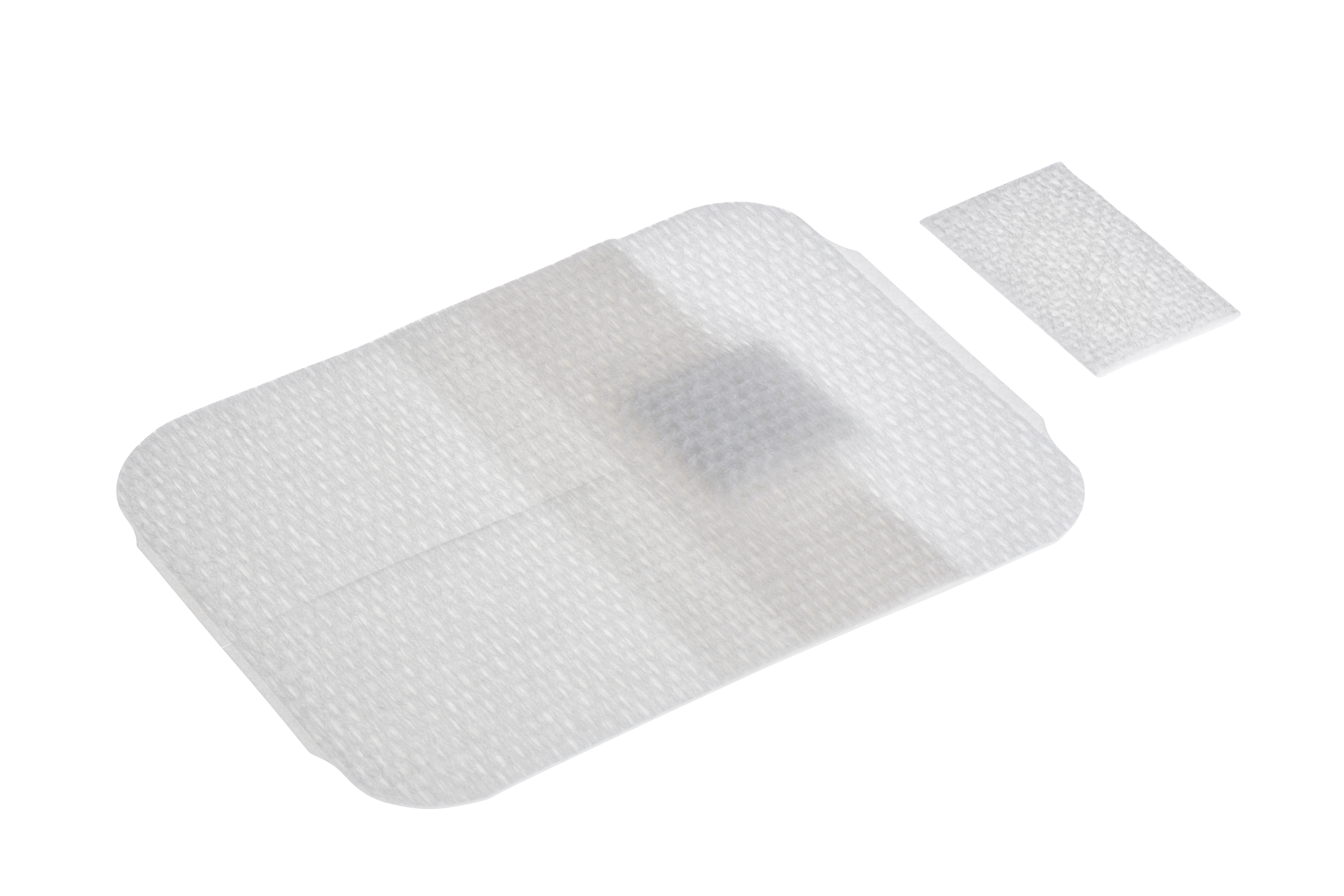 BD Vecafix Katheterfixierverband steril, ohne Sichtfenster, 7,5 x 6 cm, 50 Stück
