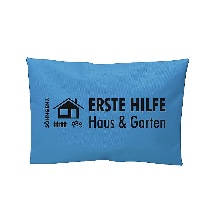 Erste Hilfe Haus & Garten blau