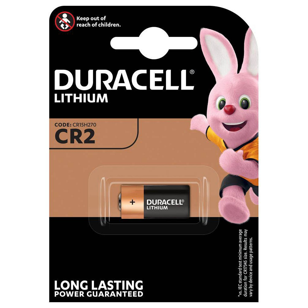 Batterie Duracell Lithium CR2 3 Volt