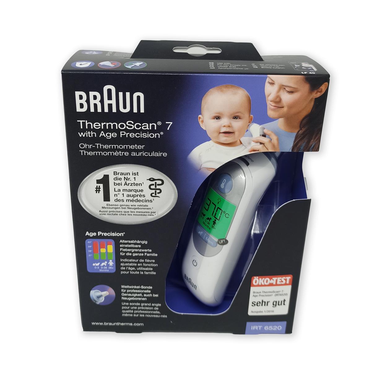 ThermoScan® 7 IRT6520 Fieberthermometer