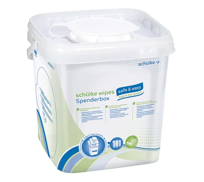 wipes safe & easy bag, 6 x 111 Tücher