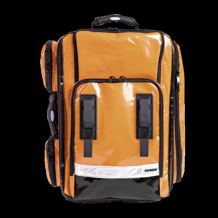 NumberOne Notfallrucksack orange gefüllt Modul A+B