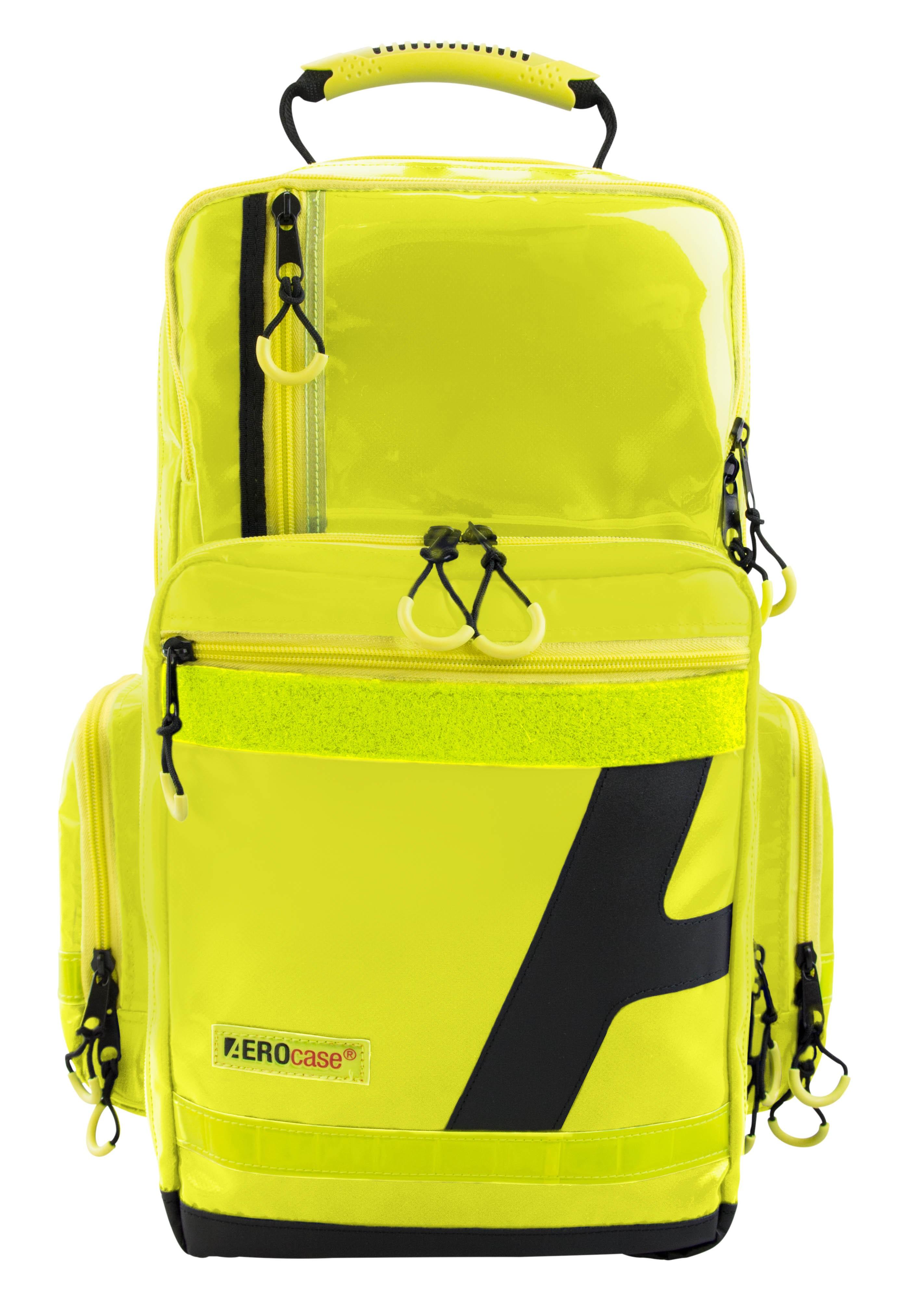 AEROcase® Notfallrucksack Large Plane in gelb