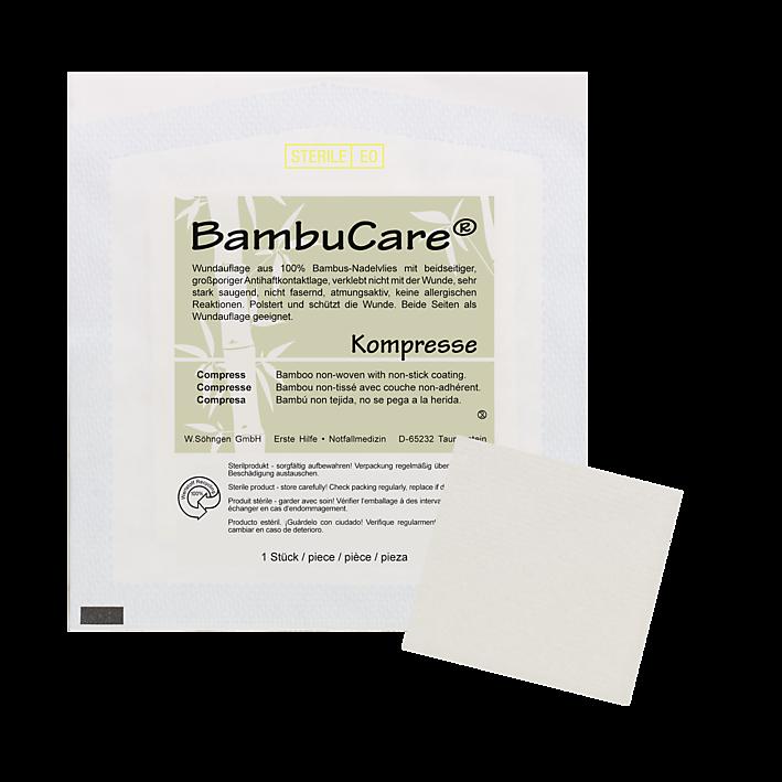BambuCare® Kinder Kompresse  6x 6cm