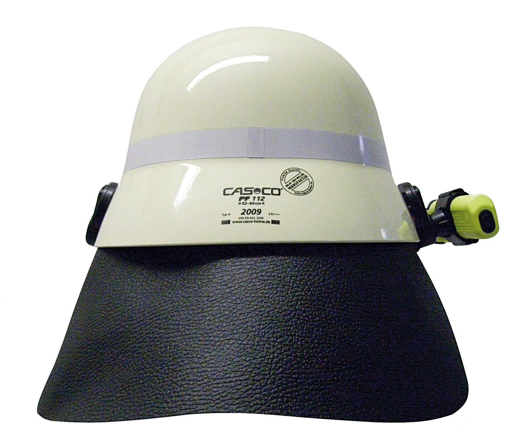 Nackenschutz Leder 6 Punkt Befestigung für Casco PF 112